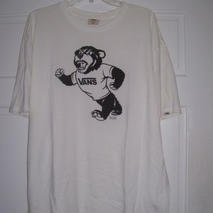 VANS Rowley Bear TEE *White* Size XL